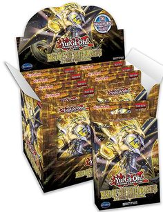 YuGiOh Rise Of The True Dragons Structure Deck Display Sealed Box