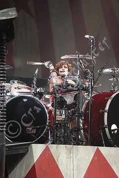 A #photo of #TommyLee on the #MotleyCrue Carnival of Sins Tour from Green Bay WI. 2005 with Mr Tommy lee Motley Crue