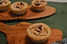 Apple Pear Cranberry Honey Creme Mini Pies