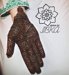 Ideas Indian Bridal Henna Mehndi Colour For 2019 New Bridal Mehndi Designs, Dulhan Mehndi Designs, Simple Mehndi Designs, Bridal Henna, Mehandi Designs, Henna Mehndi, Mehendi, Indian Bridal, Henna Color