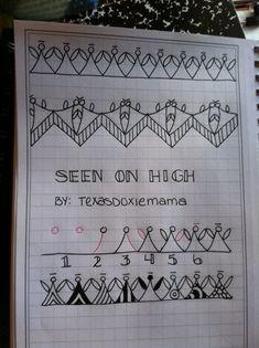 #SeenOnHigh   #zentangle   #texasdoxiemama