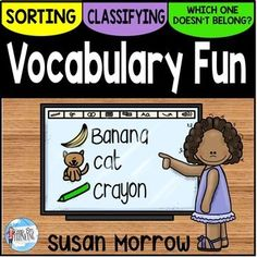 Vocabulary Activities: Word Sorts and Classifying - Your Kindergarten, 1st, 2nd, and 3rd grade classroom or homeschool students are going to be vocab pros with this 140 page resource! Students will sort, classify, and decide which word does NOT belong. This is great for vocabulary acquisition with your first, second, or third grader. Click through to see the game options, worksheets, sorting mats, and MORE included! $
