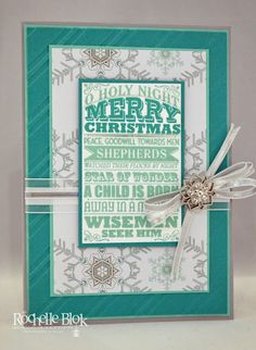 The Stamping Blok: Holiday Catalogue Sneak Peek 3 By Rochelle Blok