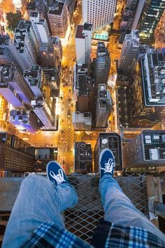 On The Roofs  byVadim Makhorov.