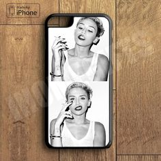 Miley Cyrus Plastic Phone Case For iPhone 6 Plus More Style For iPhone – iHomeGifts