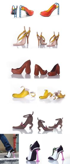 Wowowowo!! Slide sling shoot dog banana puppy and gum heels!!