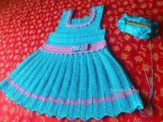 Crochet Patterns  for free  crochet baby dress  2118 - YouTube