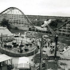 Playland Park Houston, Texas 1950's.    Oh how I lived to go here! Did u ever go?