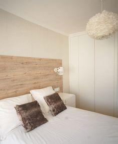 Nordic bedroom by habitaka scandinavian design and decoration Comfy Bedroom, Bedroom Bed Design, Bedroom Decor, Nordic Bedroom, Small Bedroom Storage, Moraira, Bed Frame And Headboard, My Room, New Homes