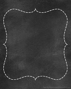 Chalkboard papers for printables, invites