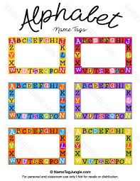 Free Printable Preschool Name Tags The Template Can Also Be Used - Cubby name tag template