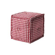 The Gingham Pouf   Serena & Lily
