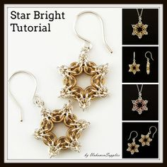 Star Bright Tutorial - Chainmaille Jewelry PDF – Unkamen Supplies