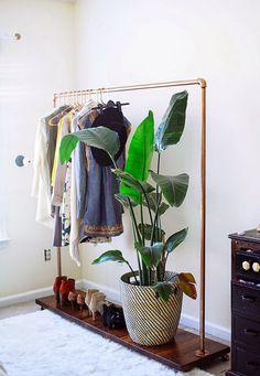 Portable wardrobe Diy Project