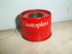 elastoplast sticky plaster on a roll usually used with some furry lint on scratches and cuts , leaving black sticky marks and furry scabs lol 1970s Childhood, My Childhood Memories, Those Were The Days, The Good Old Days, Nostalgic Images, Halcyon Days, Vintage Medical, Households, Do You Remember