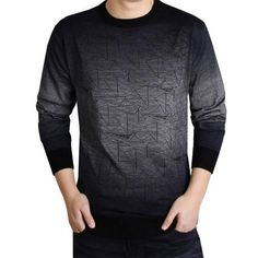 Cheap cashmere sweater men, Buy Quality brand men sweater directly from China men brand sweater Suppliers: COODRONY Cashmere Sweater Men Brand Clothing Mens Sweaters Print Hang Pye Casual Shirt Wool Pullover Men Pull O-Neck Dress T 613 Smart Casual Sweater, Denim Casual, Smart Casual Men, Casual Sweaters, Casual Shirts, Cashmere Sweater Men, Cashmere Pullover, Men Sweater, Cashmere Wool