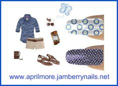 Jamberry Nails go with everything!