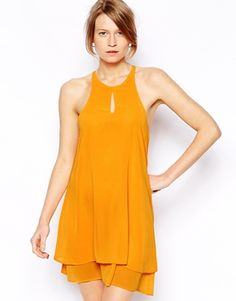 Love Cami Swing Dress with Keyhole
