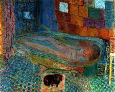 Pierre Bonnard, Nu dans la baignoire
