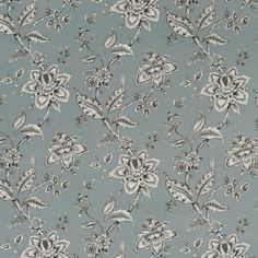 Palampore Mineral from the Eden collection by Clarke & Clarke featuring a floral pattern Clarke And Clarke Fabric, Painted Rug, Pattern Matching, Fabric Houses, Concept Home, Taupe Color, Colour, Curtains With Blinds, Fabric Wallpaper