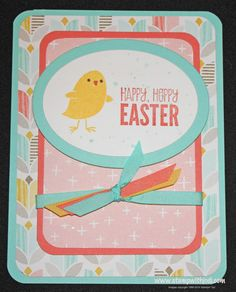 For Peeps' Sake - Easter Cards - Day 2 - Stamp with Jodi