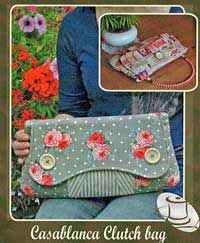 cute clutch - i think i bought this pattern already ....