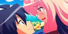louise x saito - Yahoo Image Search Results The Familiar Of Zero, Manga Anime, Anime Art, Zero No Tsukaima, Kawaii, Anime Couples, Anime Characters, Cosplay, My Favorite Things