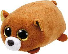 a780df70410 TY Beanie Boo teeny tys Plush - Icy the Seal Ty Beanie Boos Big Eyes Plush  Toy Doll Purple Panda Baby Kids Gift