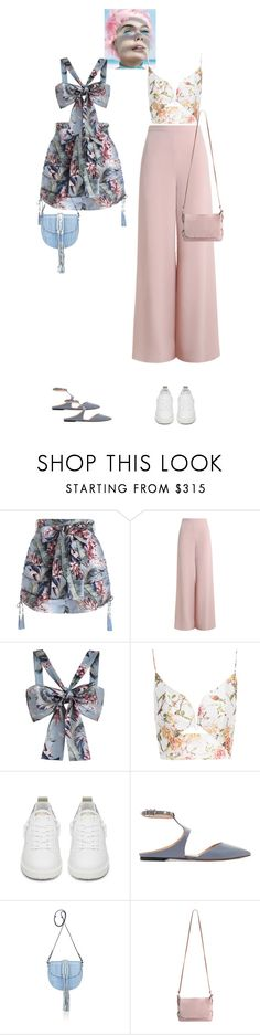 """""""Mai & Hara #8508"""" by canlui ❤ liked on Polyvore featuring Zimmermann, Golden Goose, Valentino and Altuzarra"""
