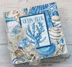 Scraps of Life: Graphic 45 Ocean Blue Mini Album Tutorial Diy Mini Album, Mini Album Tutorial, Mini Scrapbook Albums, Mini Albums, Accordion Book, Graphic 45, Vintage Graphic, Graphic Design, Nautical Cards
