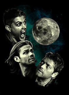 Supernatural Three Super Moon Shirt