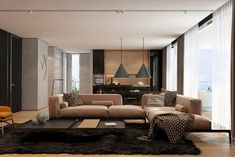 Interior Of Modern Apartments In Tel Aviv From Iryna Dzhemesiuk 1
