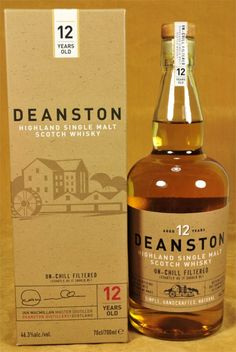 Deanston Whisky 12 y.o.
