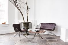 Overgaard & Dyrman's debut furniture collection: the Wire Collection