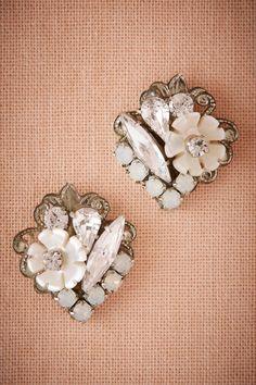 Florissa Earrings from @BHLDN