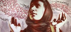"Shamsia Hassani ""Birds of no Nation"" by ElMac"
