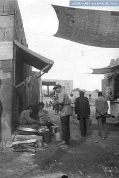 Marketplace, 1923, Yerevan, Armenia