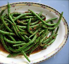I make these for my wife... she loves these sesame garlic sauteed green beans