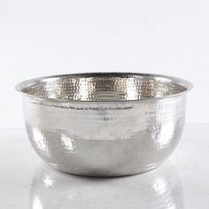 Hammered Stainless Steel for foot detox and soaks