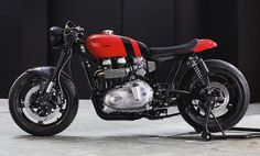 Bad Winners Thruxton cafe racer #triumph