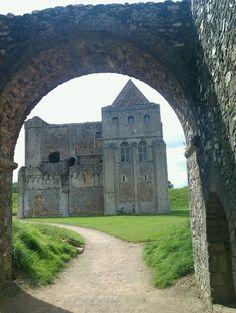 Castle Rising Castle in Kings Lynn, Norfolk
