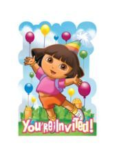 Dora the Explorer Invitations - Party City