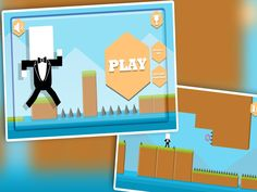 TECHY TUXEDO: A HEADSPINNER, Techy TuXedo , our Mr Jumper is ready to dodge the spikes. #game #jumper #android #kids