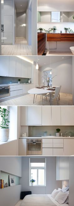 Another white kitchen. can I please just omg I need this in my life