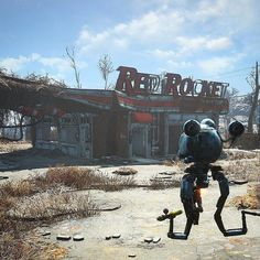 Can't wait to make a camp out of this. #fallout #gaming