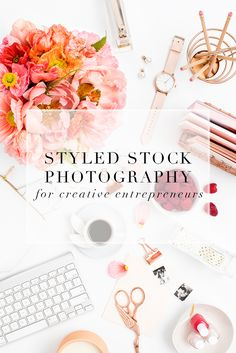 My favorite source for styled desktop stock images for creative business owners.
