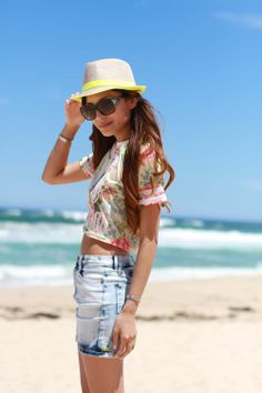 Fashion Colorful Straw Hat - OASAP.com