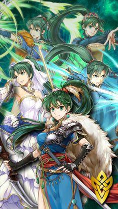 Lyndis from Fire Emblem Fire Emblem Lyn, Fire Emblem Games, Fire Emblem Warriors, Character Art, Character Design, Fan Anime, Fire Emblem Characters, Fire Emblem Awakening, Anime Comics