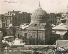 مسجد النبي دانيال بالاسكندرية سنة 1929 .EGYPT -  ALEXANDRIA - Nebi Daniel Masjid , 1929