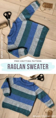 knitting for kids Cool Kids Pullovers Free Knitting Patterns - Free Crochet Patterns Boys Knitting Patterns Free, Baby Cardigan Knitting Pattern Free, Baby Sweater Patterns, Knit Baby Sweaters, Knitting For Kids, Easy Knitting, Knitting Children Sweater, Knitted Baby, Kids Patterns